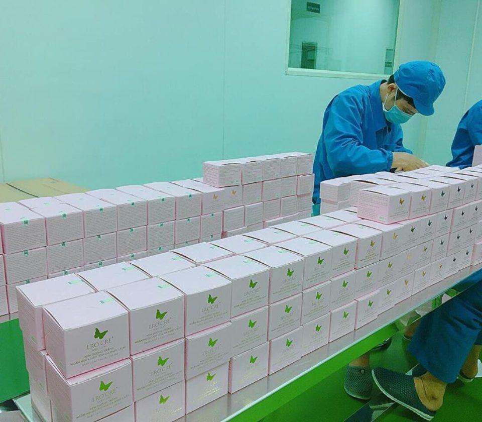 quy trinh sản xuất mỹ phẩm baby lilac (4)